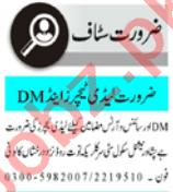 Lady Teacher & Subject Teacher Jobs 2021 in Peshawar