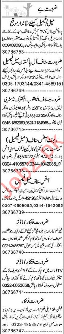 Express Sunday Faisalabad Classified Ads 28 March 2021