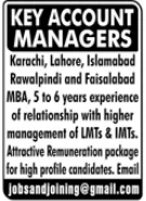 Key Account Managers Jobs 2021