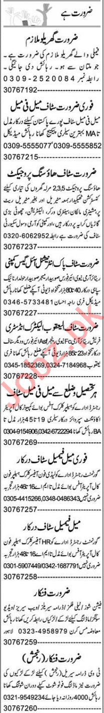 Client Relation Officer & Admin Manager Jobs 2021 in Multan