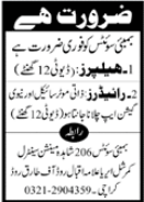 Bombay Sweets Jobs 2021 in Karachi