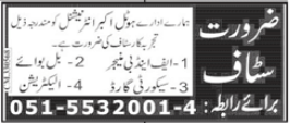 Hotel Akbar International Jobs 2021 in Rawalpindi