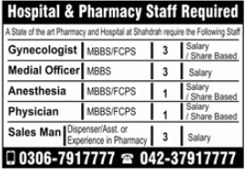 Medical Officer Jobs 2021 in Lahore