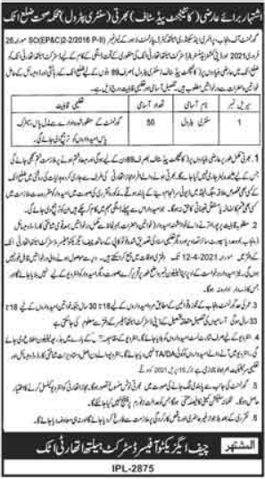 Primary & Secondary Healthcare Department Jobs 2021
