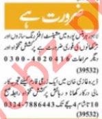 Nawaiwaqt Sunday Classified Ads 28th March 2021 Technical