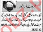 Dunya Sunday Classified Ads 28th March 2021 for Driving