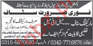 Al Mughal Travel & Tours Agency Jobs 2021 for Sales Officer