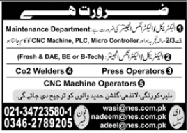 Noor Engineering Services Jobs 2021 in Karachi