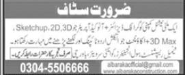 Al Baraka Construction Co Ltd Jobs 2021 in Islamabad