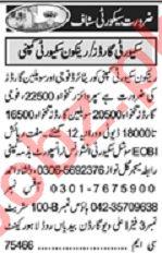 Khabrain Sunday Classified Ads 4 April 2021 Security Staff