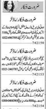Acting Modeling Jobs 2021 For Media Group in Lahore