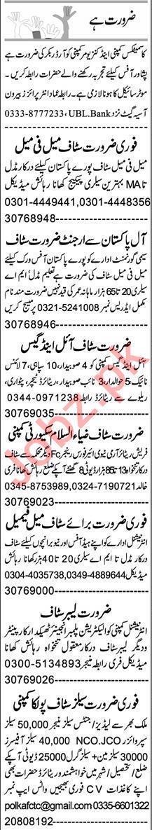 Order Booker & PHP Developer Jobs 2021 in Peshawar