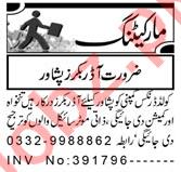 Sales & Marketing Staff Jobs 2021 in Peshawar