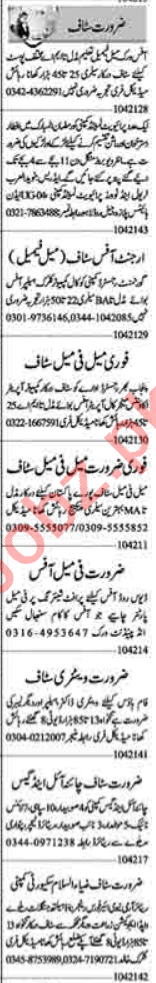 Promotion Officer & Assistant Supervisor Jobs 2021 in Lahore