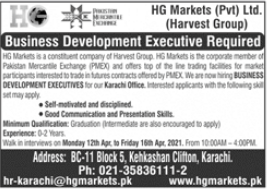 HG Markets Private Limited Jobs 2021