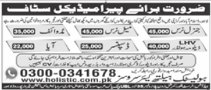 Holistic Healthcare Services Jobs 2021 For Paramedical Staff
