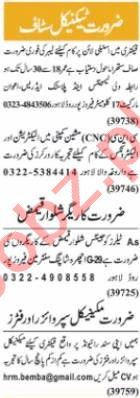 Nawaiwaqt Sunday Classified Ads 11 April 2021 for Technical