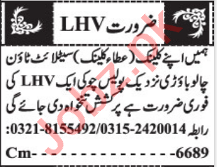 Lady Health Visitor & Medical Officer Jobs 2021 in Quetta
