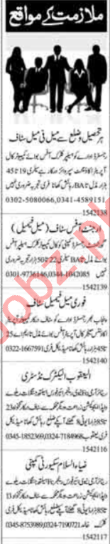 Telephone Operator & Receptionist Jobs 2021 in Islamabad