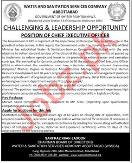 Water & Sanitation Services Company WSSCA Jobs 2021