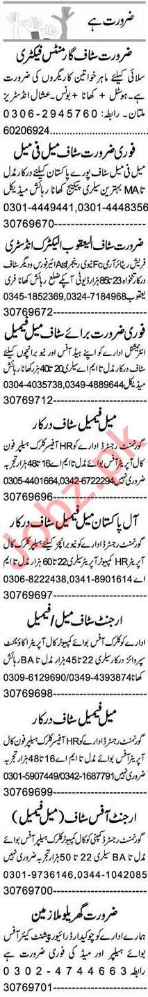 Lab Assistant & Civil Supervisor Jobs 2021 in Multan