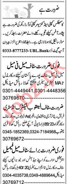 Data Entry Operator & Receptionist Jobs 2021 in Peshawar