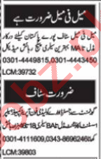AutoCAD Operator & Web Developer Jobs 2021 in Multan