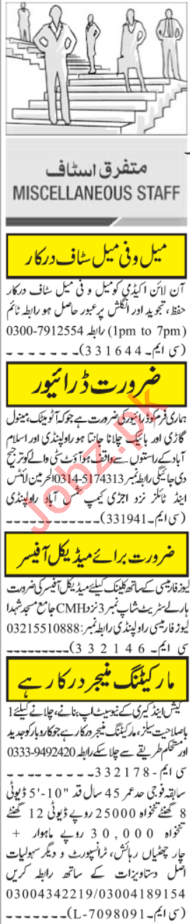 Quran Teacher & Medical Officer Jobs 2021 in Islamabad
