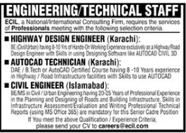 ECIL Consulting Services Jobs 2021 in Karachi & Islamabad