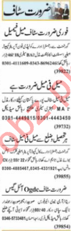 HR Officer & Branch Manager Jobs 2021 in Lahore