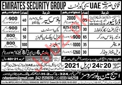 House Keeper & Kitchen Assistant Jobs 2021 in UAE