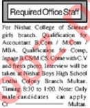 Accountant & Accounts Officer Jobs 2021 in Multan