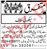 Security Guard & Security Chief Jobs 2021 in Peshawar