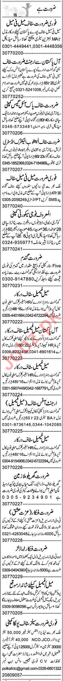 Receptionist & Assistant Supervisor Jobs 2021 in Faisalabad