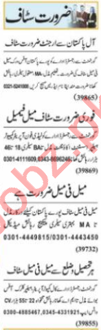 Assistant Manager & Sales Manager Jobs 2021 in Lahore