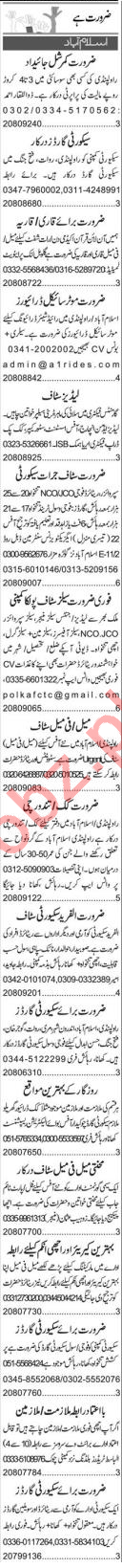 HR Officer & Assistant Supervisor Jobs 2021 in Islamabad