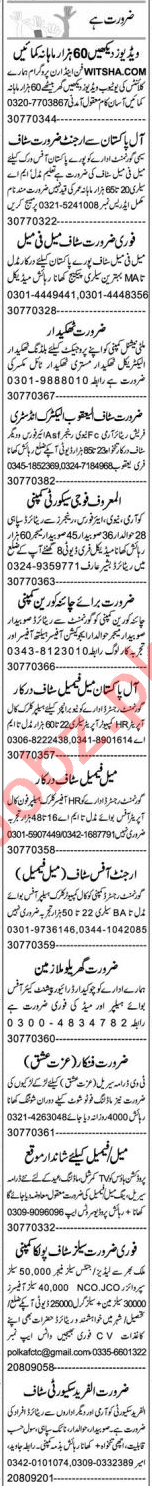Executive Manager & Secretary Jobs 2021 in Lahore