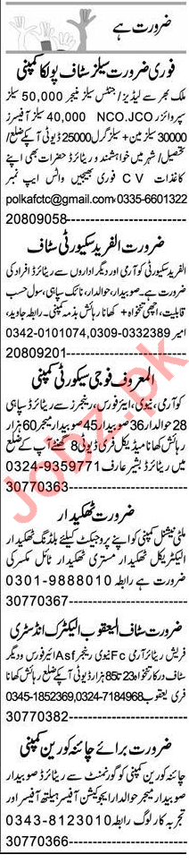 Assistant Manager & Admin Manager Jobs 2021 in Peshawar