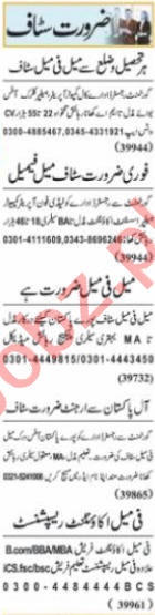 Female Accountant & Purchase Assistant Jobs 2021 in Lahore