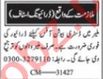 LTV Driver & HTV Driver Jobs 2021 in Karachi