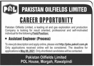Pakistan Oilfields Limited POL Job 2021 in Rawalpindi
