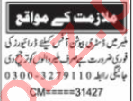 Nawaiwaqt Sunday Classified Ads 2 May 2021 for Driving Staff
