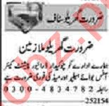 Dunya Sunday Classified Ads 2 May 2021 for House Staff