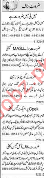 Web Developer & Hardware Technician Jobs 2021 in Islamabad