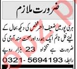 Caretaker & House Keeper Jobs 2021 in Haripur