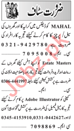 Assistant Manager & HR Officer Jobs 2021 in Lahore