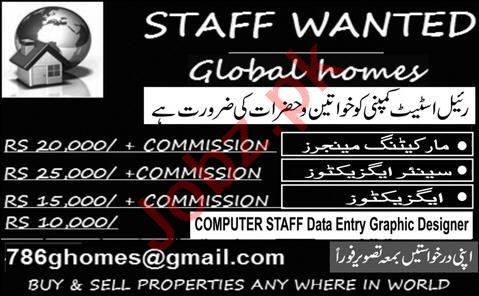Marketing Manager & Senior Executive Jobs 2021 in Lahore