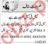 Computer Operator & Call Operator Jobs 2021 in Islamabad