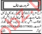 Khabrain Sunday Classified Ads 9 May 2021 for General Staff