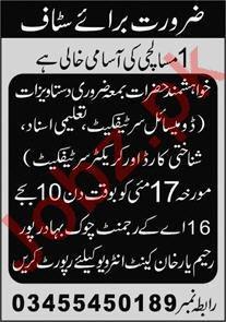 16 AK Regiment Chowk Bahadurpur Rahim Yar Khan Jobs 2021